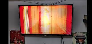 Giá sửa tivi bị sọc màn hình, nguyên nhân và cách khắc phục
