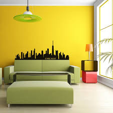 chicago city skyline wall decal
