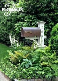 mailbox landscaping with culvert. Plain Culvert Mailbox Landscaping Design Intended Mailbox Landscaping With Culvert