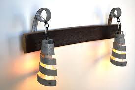 industrial bathroom vanity lighting. Marvelous Industrial Bathroom Lighting Vanity Wine Barrel Ring L