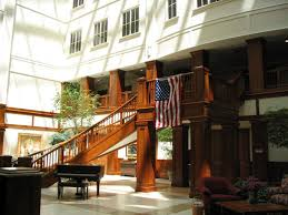 Longaberger home office Net Worth Shot Of The Baskets Interior Atrium Httpwwwofficesnapshotscom20070904 httpwwwofficesnapshotscom20070904longabergerbasketshq Kordanemeth Engineering Longaberger Basket Building Newark Ohio Atlas Obscura