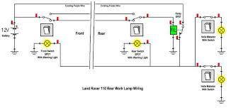 wiring a worklight landyzone land rover forum here s my diagram