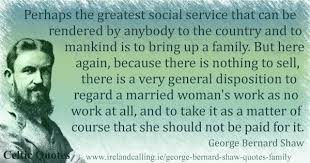 George Bernard Shaw Quotes Mesmerizing George Bernard Shaw Quotes On Family Life Ireland Calling