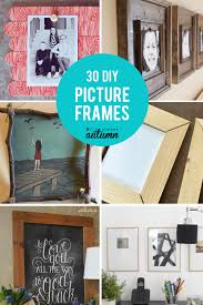 30 diy picture frame tutorials how to make a picture frame in any size or