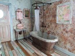 i knew i wanted to create a shower over the bathtub but i had no idea what it was going to look like until i saw a picture in an old