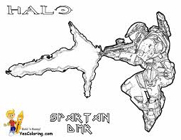 free halo coloring pages reach noble team pdf simple