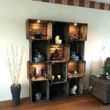 wood box decor wood boxes shelves box lamp wooden crate wall small decor square floating for wood box