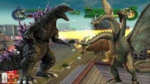 ก็อตซิลล่า 2000 (Godzilla 2000) Vs มังกร 3 หัว (King ghidorah) - YouTube