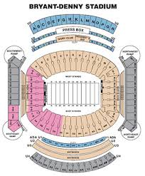 32 Unique Bryant Denny Stadium Virtual Seating Chart