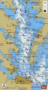 Chesapeake Bay Southern Part Marine Chart Us12280_p2975