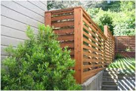 horizontal wood fence panels. Wooden Horizontal Louver Fence Wood Panels