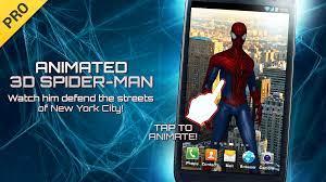 Live Wallpaper - Spider Man Amazing ...