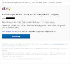 Sind Und Spam-mails Aktuell Betrug Diese Fälschung Phishing Eine Ebay