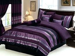 black and purple bedding 7 queen size royal purple black silver striped awesome purple bedding set black and purple bedding