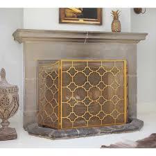 bronze mesh fireplace guard gold fireplace screen french bedroom fireplace screen