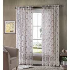 home classics gardner sheer voile curtain curtains bedrooms