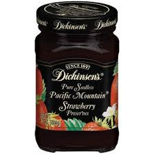 insons pacific mounn seedless strawberry preserves 10 oz smucker s