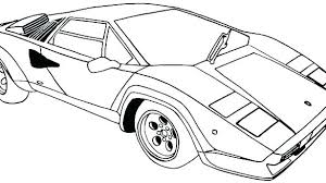 Sport Car Coloring Pages Ts Cars Coloring Pages Printable 2 T Car
