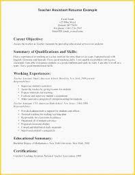 Sample Resume For Teaching Job Format Resume For Teachers Resume