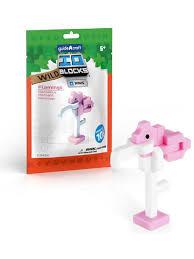 <b>Конструктор</b> IO <b>Blocks</b> Minis Фламинго. GuideCraft 6137746 в ...