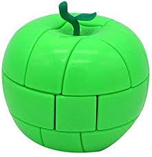 Green <b>Apple</b> Magic Cube <b>Fruit Shaped Puzzles</b>