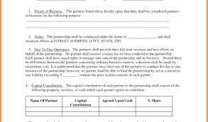 Partnership Agreement Template Partnership Agreement Template ...