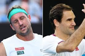 Australian Open 2020: Ballgirl collides with Roger Federer ...