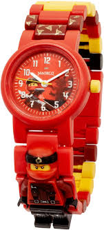 5005692 LEGO Ninjago Kai Minifigure Link Watch