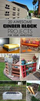 cinderblock furniture. 20 Awesome DIY Cinder Block Projects For Your Homestead Cinderblock Furniture R
