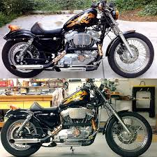 installed vulcan 3 degree raked cups archive the sportster and