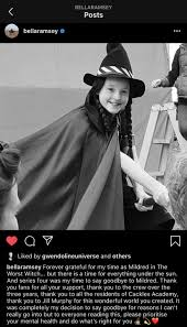 Mildred hubble (georgina sherrington/bella ramsey/lydia page) the leading character, the worst witch in the entire school. Looks Like Bella Ramsey After Series 4 Will No Longer Be The Worst Witch Wish Her The Best Theworstwitch