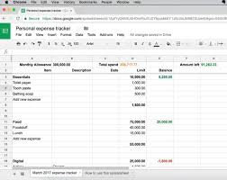 Personal Expense Tracking Heres A Simple Personal Expense Tracker Anyone Can Use Techcabal