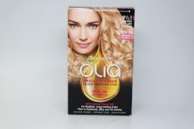 garnier olia oil powered permanent hair color 9 1 2 1 lightest ash blonde ebay