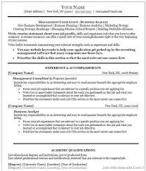 sample resume example best resume template microsoft word for management consultant with experience and accomplishments how do i get a resume template on word