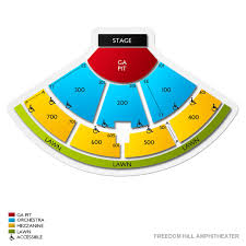 Freedom Hill Seating Chart Freedom Hill Amphitheater Tickets