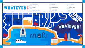 Bud Light Lighthouse Bud Light Whatever Usa Event Branding Identity On Behance