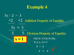 solving two step equations students