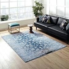 distressed fl lattice contemporary area rug in blue lifestyle 8x10 rugs ikea