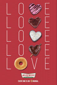 krispy kreme is introducing their limited edition heart shaped valentine s doughnuts available until february 18 2018 i was able to feature this recently
