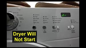 Frigidaire Affinity Dryer 3 Blinking Lights Dryer Will Not Start Dr Displayed E66 Error Frigidaire Affinity Home Repair Series