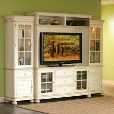 white tv entertainment center. Riverside Placid Cove Entertainment Center - Honeysuckle White | Hayneedle Tv E