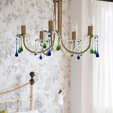 add an elegant touch to your scheme with a striking ceiling light as shown by style at home this simple project takes next to no time and you can pick and