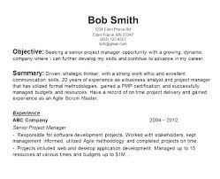 Work Objective For Resume Best Resume Objective Statements Job