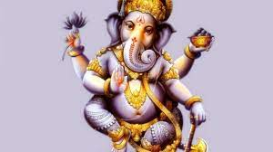 God Ganesha Lambodar Hd Desktop Wallpaper