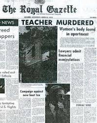 Teacher's 1975 murder is oldest unsolved case - The Royal Gazette | Bermuda  News, Business, Sports, Events, & Community |