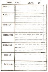 Printable Contact List Simple Free Printable 'INDEX CARDS' DIY Planner Templates WEEKLY PLAN AT