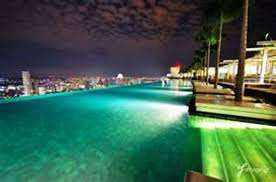 Plain Infinity Pool Night At Singapore N For Ideas