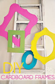 tips and tricks for hanging photos and frames diy cardboard frame hangers step by