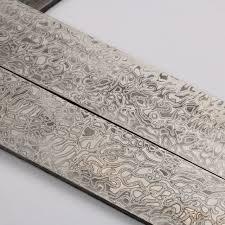 Damascus Steel Patterns Impressive 488mm X 488mm X 48mm Damascus Billet Damascus Steel Blanks HRC48