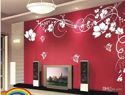 Beautiful Wallpaper Design For Home Decor Hot Selling Beautiful Flower Wall Paper Decal Art Stickers For Home 39